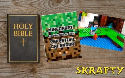 Read the Bible in a Year PLUS Minecraft Activities