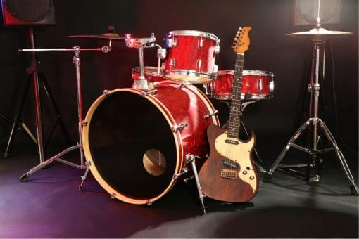 Online Guitar and Drum Lessons